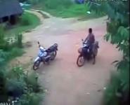 moto-contre-voiture